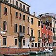 Maisons vénitiennes sur le Rio di Carmini