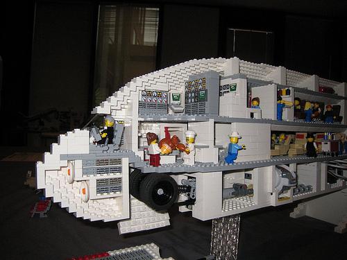 A380 Lego Quantas