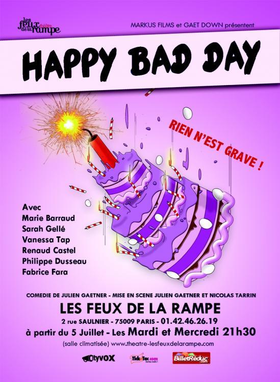 Happy bad day affiche