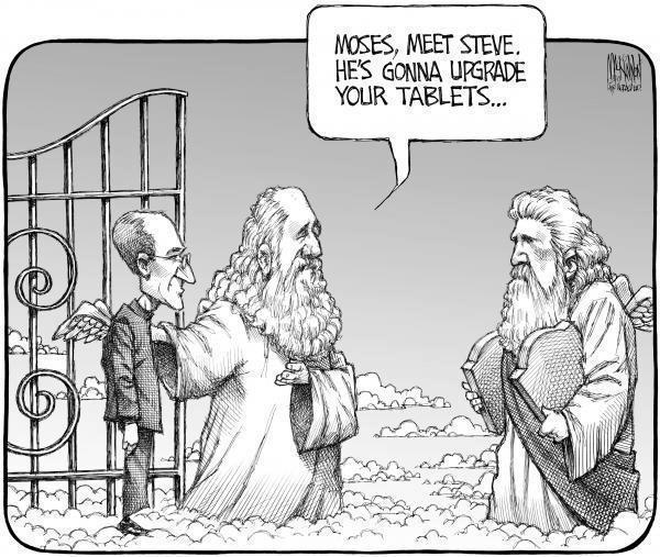 Jobs vs Moise