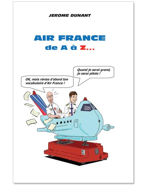 CouvertureDico Air France de A à Z