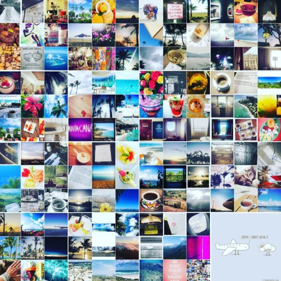 One year on Instagram