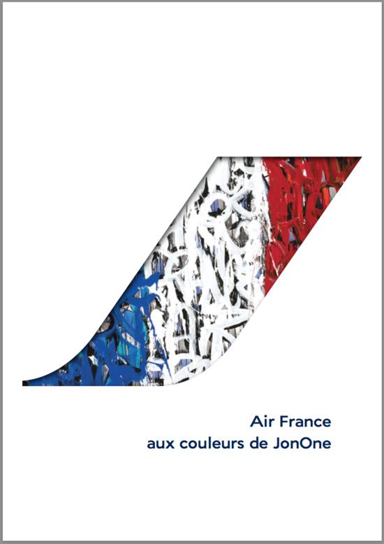 Air France aux couleurs de JonOne