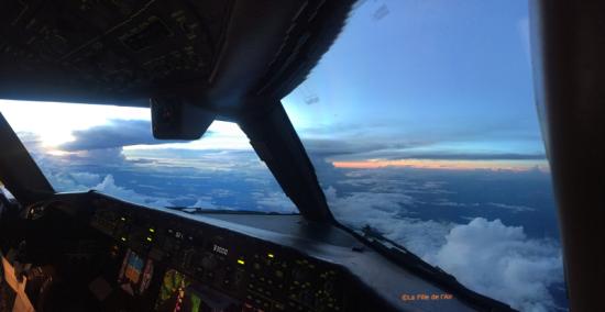 Au-dessus du Brésil