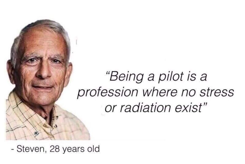 Being a pilot
