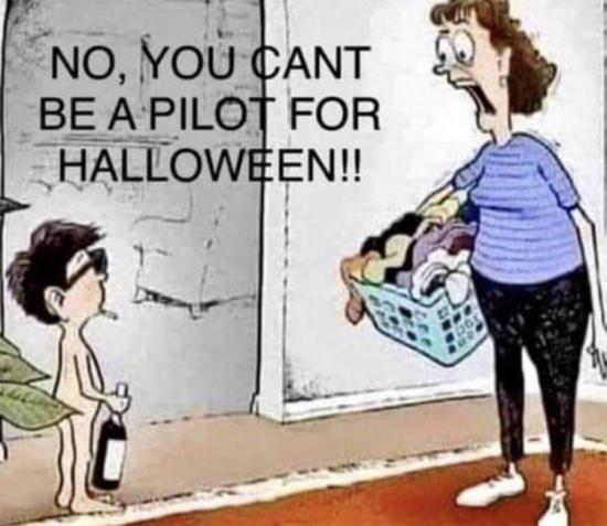 Pilot Halloween