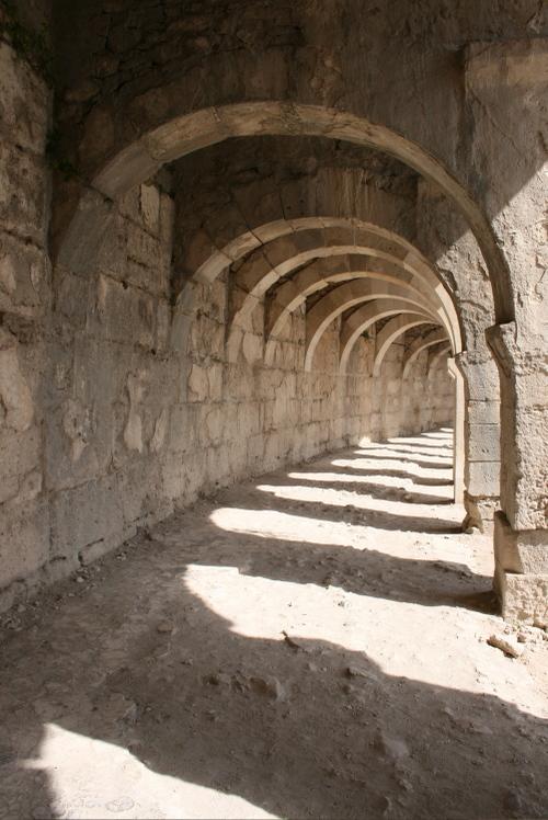 Galerie à Aspendos