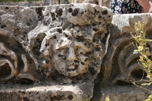 Sculptures à Pergé