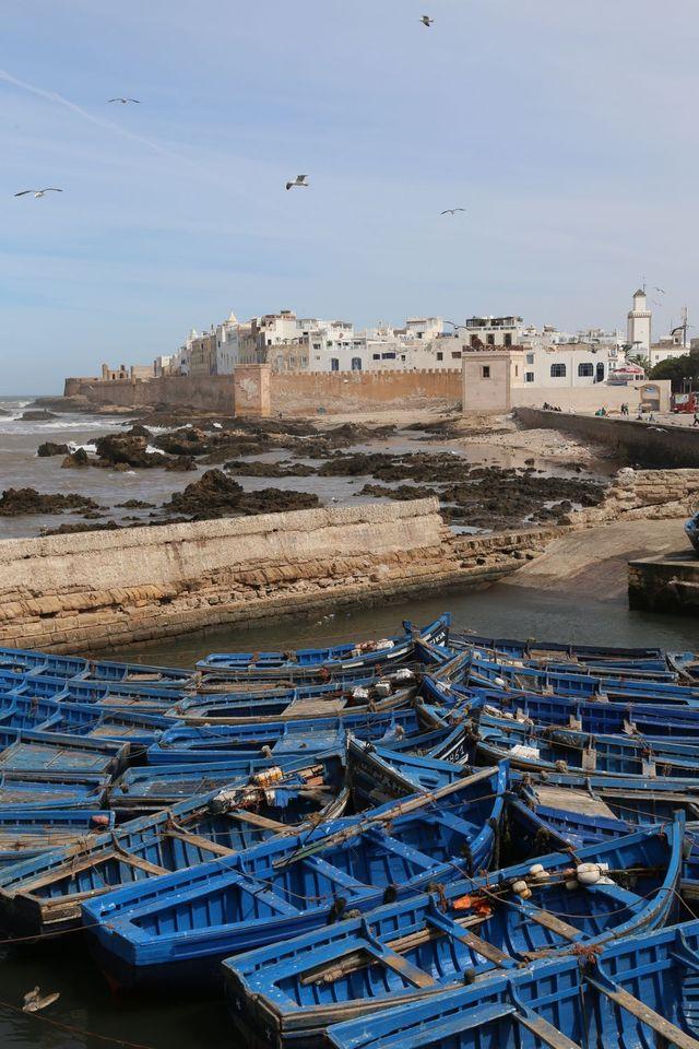 Vue sur Essaouira