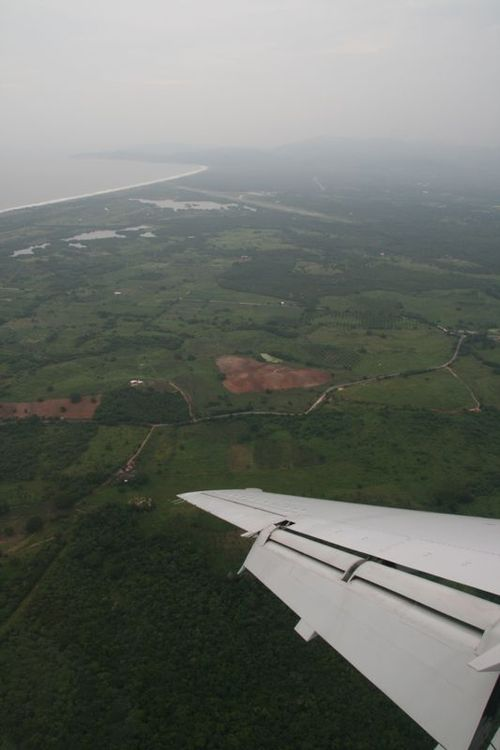 Arrivée sur Zihuatanero