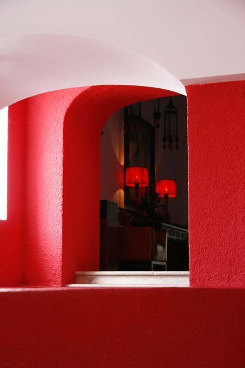 Murs rouges